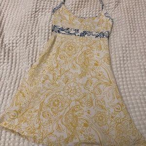Yellow Patagonia Dress